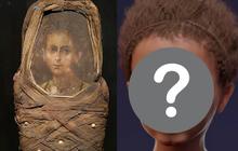 Phục dựng dung mạo em bé Ai Cập chết hơn 2000 năm trước, kết quả giống chân dung gắn trên xác ướp đến kinh ngạc ngoại trừ 1 điểm