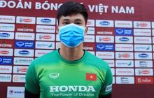 Thủ môn Văn Hoàng giữ kín thông tin mật của ĐT Việt Nam trước trận gặp ĐT Trung Quốc