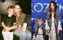 Selena Gomez mãi mới chịu khoe em gái: Visual xinh xỉu như mẫu nhí, nhìn lại thảm đỏ Frozen 2 mới thấy khác biệt hẳn