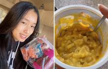 Khi rich kid tự làm bữa trưa mang đi học: Jenny Huỳnh khiến mọi người tròn mắt vì ăn quá đơn giản