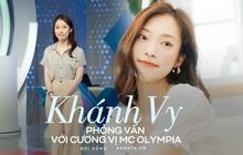 Phỏng vấn nóng Khánh Vy sau số đầu tiên lên sóng Olympia, tiết lộ được bố pha cho 1 cốc nước đặc biệt trước giờ ghi hình