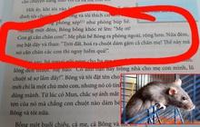 """Bài tập trong sách giáo khoa Ngữ Văn gây tranh cãi khi có chi tiết """"Mẹ bị chuột gặm chân"""": Rùng rợn, thiếu logic, câu từ lủng củng?"""