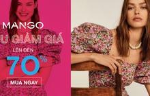 """HOT: Mango mới lên Tiki, """"mở bát"""" ngay bằng chương trình sale đến 77% cho loạt váy áo xịn xò"""