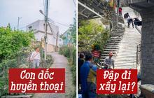 Xôn xao hình ảnh dốc Nhà Bò nổi tiếng Đà Lạt được tu sửa, netizen vừa mừng vừa tiếc: Vậy là hết cảm giác mạnh rồi!