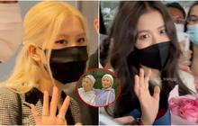 Netizen ghen đỏ mắt với màn đu idol siêu thành công của 2 du học sinh Việt: Chụp cận mặt Jisoo và Rosé, còn được chạm tay nữ thần
