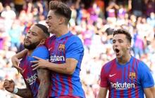 Truyền nhân của Messi trở lại và ghi bàn, Barcelona thắng tưng bừng sau chuỗi ngày u ám