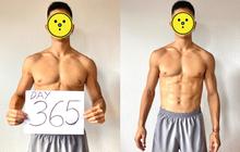 1 sao nam Vbiz khiến hội chị em đứng hình 3 giây khi tung ảnh body 6 múi săn chắc sau 365 ngày ăn chay!