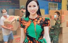 Em gái tỷ phú của Cẩm Ly tiếp tục tặng hàng trăm tấn lương thực và tiền mặt cho bà con 3 tỉnh thành phố, khẳng định không kêu gọi quyên góp