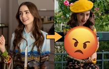 """Emily In Paris 2 vừa tung ảnh đã nhận """"gạch đá"""" vì trang phục quá lố bịch, trông chả khác gì cây kem nhiều màu!"""
