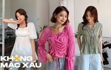 Team sang đừng nên diện 3 kiểu áo blouse này, mặc vào khả năng ghi điểm sẽ giảm luôn