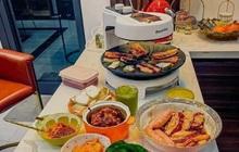 """Hội """"mê thịt"""" truyền tai nhau chiếc bếp nướng không khói kèm hút mùi vi diệu, sự thật có đúng như vậy?"""
