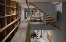 Mê mẩn nhà phố 2,3 tỷ có cầu thang uốn lượn như dải lụa, góc nào cũng giống triển lãm nghệ thuật