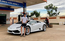 """Xôn xao vụ 9X phố núi tậu Lamborghini: """"Phấn đấu năm sau mua thêm siêu xe Ferrari"""""""