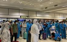Phát hiện 4 ca dương tính trên chuyến bay đón công dân từ TP.HCM về Bắc Giang