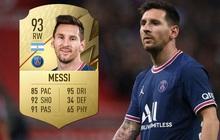 """Top 100 cầu thủ mạnh nhất trong FIFA 22, Lionel Messi vẫn """"vô đối"""""""
