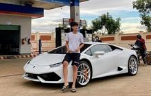 """Choáng với độ giàu sang của """"thiếu gia"""" phố núi: 23 tuổi tậu Lamborghini gần 13 tỷ, phấn đấu năm sau rước thêm Ferrari"""