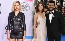 Selena Gomez có 2 thảm đỏ huyền thoại năm 2017: Lột xác nhờ lần đầu nhuộm bạch kim đến táo bạo hôn The Weeknd đại náo Met Gala