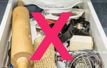 Nhiều người dọn nhà liên tục mà vẫn thấy bừa vì hay bỏ qua 5 góc nhỏ này, để lâu chắc chắn thành bãi rác