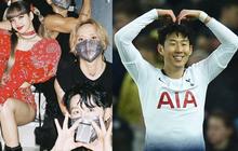 Cầu thủ Son Heung Min và bạn trai HyunA bất ngờ chụp ảnh hậu trường cùng Lisa, chuyện sốc thế này mà không ai biết?