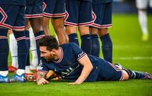 Neymar cười đau ruột vì Messi phải nằm bò dưới sân làm hàng rào tới 2 lần