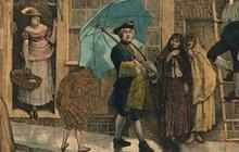 Dấu hiệu phân biệt đẳng cấp một thời của chiếc ô