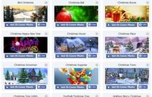 Trang hoàng Facebook đón Noel