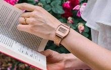 """""""Hot trend"""" đồng hồ Casio B640WC-5ADF điện tử vàng hồng"""