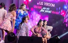 Binz, Touliver và Ninh Dương Lan Ngọc mở màn sự kiện ra mắt TV OLED 8K đầu tiên trên thế giới