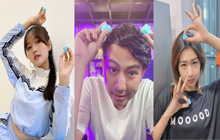 Thái Vũ, Nhung Gumiho, Trang Lou - những gương mặt đi đầu trong làng đu trend chụp ảnh với đá viên hot hit trên MXH