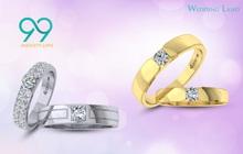 Đón đầu xu hướng nhẫn cưới kim cương 99 giác cắt