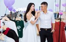 Vợ chồng Công Vinh và Thủy Tiên tình tứ đi mua sắm ngày cuối tuần