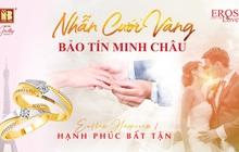 Mua nhẫn cưới vàng trúng quà sang tại Bảo Tín Minh Châu