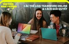 Bắt bài các thể loại teamwork online thường thấy và cách giải quyết