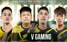 """PMPL VN S2: Điều gì giúp V Gaming giành lấy ngôi vị """"Tân vương"""" của PUBG Mobile?"""