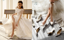 """Những thiết kế giày cưới đẹp như mơ luôn sẵn lòng """"đốn tim"""" nàng dâu khi mùa cưới vừa gõ cửa"""