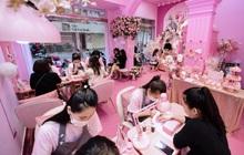 """Giới trẻ hào hứng check-in với tiệm nail """"Hàn Quốc thu nhỏ"""""""