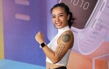 Hana Giang Anh hào hứng khi trải nghiệm đồng hồ GPS thông minh mới nhất của Garmin: Venu Sq