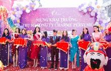 Top Hoa hậu Việt Nam 2020 đến chúc mừng nước hoa Charme khai trương trụ sở công ty tại TP.HCM