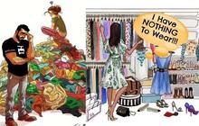 """Tìm cái kết tươi sáng hơn cho tủ quần áo của những cô nàng """"không có gì để mặc"""""""