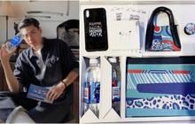 """Sao Việt """"unbox"""" hộp quà thời trang phiên bản giới hạn với thiết kế mang tinh thần BST mới của Aquafina"""