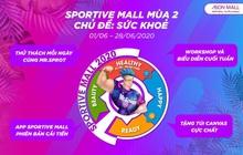 """""""Sportive Mall"""" có mùa 2 chưa? Khách hàng nhắn tin hỏi thăm và AEON MALL Tân Phú Celadon đáp nhanh là: Rồi!"""