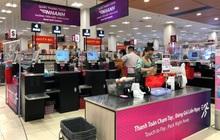 Quầy thanh toán tự động của một siêu thị Nhật gây ấn tượng mạnh cho khách hàng