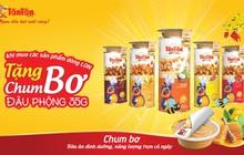 Tặng chum bơ đậu phộng 35gr khi mua các sản phẩm dòng lon của Tân Tân