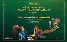 """Huyền Thoại Runeterra tưng bừng khai xuân với cuộc thi """"Vẽ Tết Runeterra - Thăng hoa chào năm mới"""""""