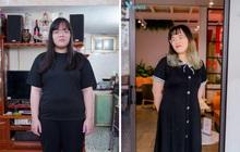Sinh xong tăng vùn vụt lên 100kg, nhờ sản phẩm này, cô gái giảm một lèo hơn chục kg trong 1,5 tháng