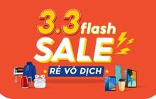"""Năm mới năm me, Shopee """"chơi lớn"""" khai hội 3.3 Flash Sale Rẻ Vô Địch"""