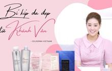 Hoa hậu Khánh Vân chuộng tẩy trang, mặt nạ thạch Celderma do Song Ji Hyo đại diện