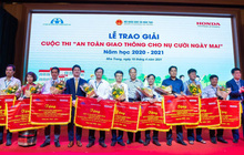Honda Việt Nam nỗ lực giảm tai nạn giao thông ở lứa tuổi học sinh