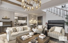 Phong cách bán cổ điển trong lĩnh vực thiết kế nội thất của Luxy Design