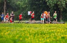 """Ecopark Marathon 2021 - Ngắm cung đường chạy giữa thiên nhiên """"siêu chất"""" trước giờ G"""